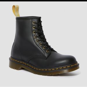 DrMartens 1460- Vegan Black Boot size US6